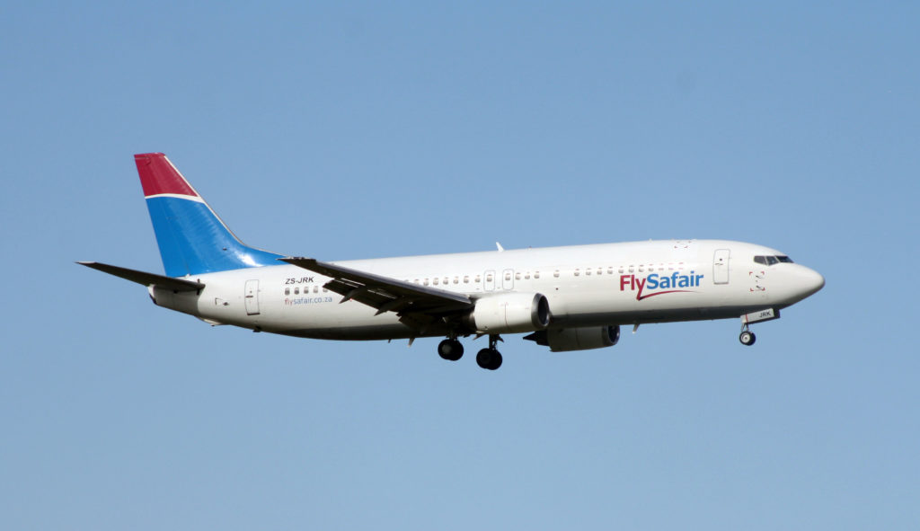 FlySafair flights available through cheapflightssa.co.za
