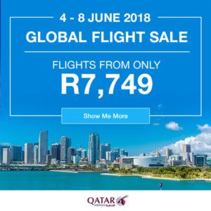 Qatar flight special